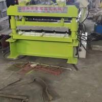 金辉压瓦机840单板质量看得见,可以压不锈钢板用几十年不坏