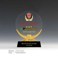 110中国警察节纪念品 公安局表彰奖牌 新警入警留念礼品定做