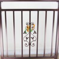 青岛铁艺阳台护栏、体育围栏厂家