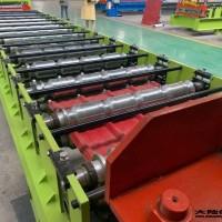 石首红旗压瓦机_金英制作彩钢瓦的机器_可以用50多年的彩钢压瓦机 _扬中