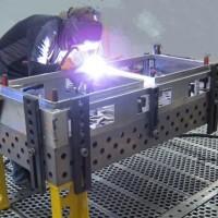 湖北三维焊接平板企业_泊头海红量具加工三维柔性组合焊接平台